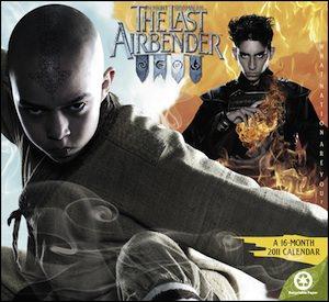 Avatar The Last Airbender 2011 Wall Calendar