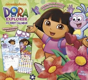 Dora the Explorer 2011 Wall Calendar