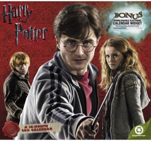 Harry Potter and the Deathly Hallows 2011 Wall Calendar