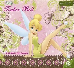 Tinker Bell 2011 Wall Calendar