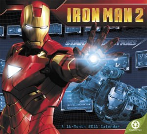 Iron Man 2 2011 Wall Calendar