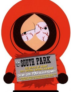 South Park Special Edition 2011 Wall Calendar