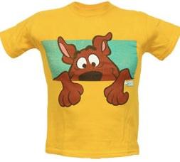 Scooby-Doo Peek-A-Boo Youth T-Shirt