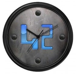 42 Badge Wall Clock