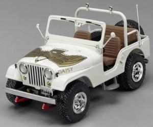 Daisy Dukes jeep