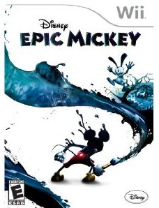 Disney Epic Mickey Wii game