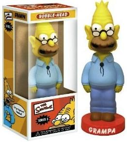 Abe Simpson Bobblehead