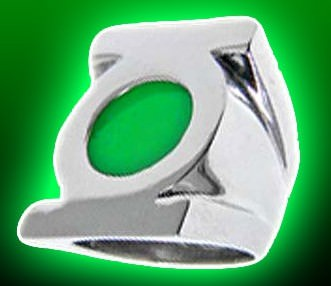 DC Comics Green Lantern Symbol Ring