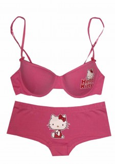 Hello Kitty - In The Pink Bra and Panty Set for women