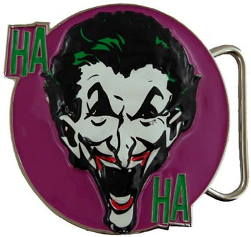 Batman Joker Laughing Belt Buckle