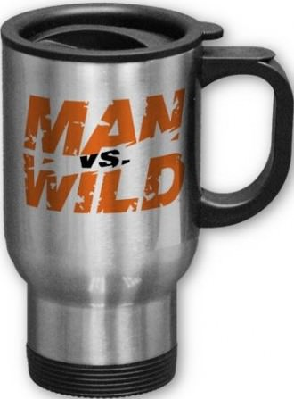Man vs. Wild Travel Mug