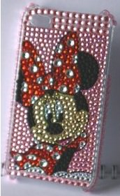 Minnie mouse rhinestone bling crystal iPhone case