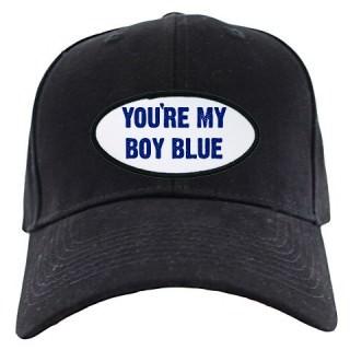 Your My Boy Blue Black Cap
