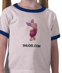 Personalize your own Piglet T-shirt