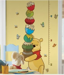 Pooh & Friends Growth Chart