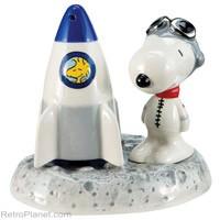 Snoopy Astronaut Salt & Pepper Shakers