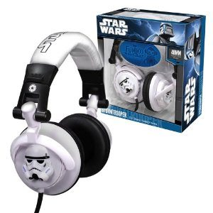 Star Wars Headphones of Stormtrooper
