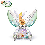 Tinker Bell egg shaped music box