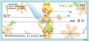 Tinker Bell Magic! Personal Check Designs