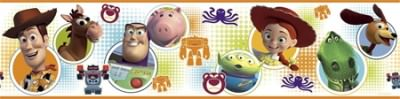 Toy Story 3 Peel & Stick Border