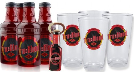 Tru Blood Drink Set