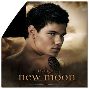 Twilight New Moon Team Jacob Duvet Cover