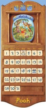 Winnie The Pooh The Whole Year Through Collector Plate Calendar Collection