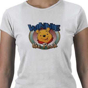 Winnie the pooh frame t-shirt