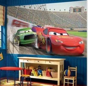 Cars XL Wall Mural 6' x 10.5'