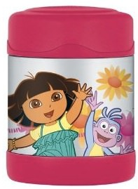Thermos FUNtainer with Dora and Boots great for school and daycare