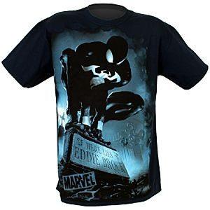 A Dark Glow in the dark Spider-Man T-shirt.
