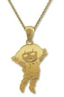 Gold Plated Dora Necklace with jewelry box