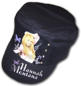 Hannah Montana hat for girls.