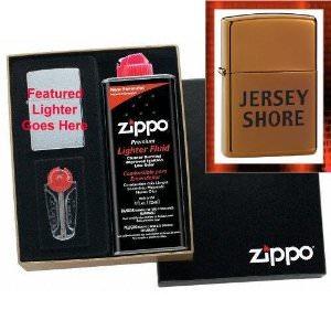 Jersey Shore Zippo Lighter Gift Set