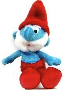 "6"" Papa Smurf plush doll"