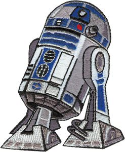 Star Wars Robot R2-D2 now as iron on patch