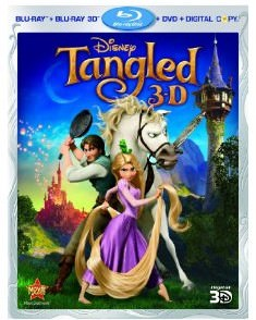 Tangled DVD 4 Pack