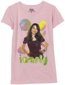 iCarly That's Jank! pink T-shirt