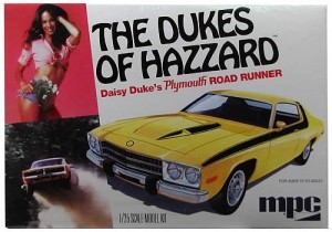 Daisy Duke Plymouth Road Runner Model Kit