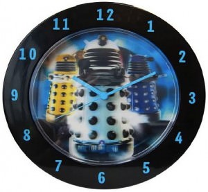 Doctor Who Dalek wall clock with the Dalek's watching you.....