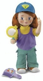 Fisher Price Darby doll that moves and talks.