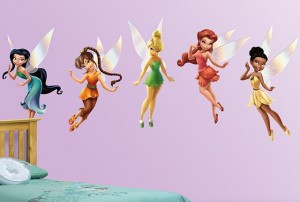Disney Fairies wall stickers for you room.