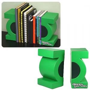 Green Lantern Bookends