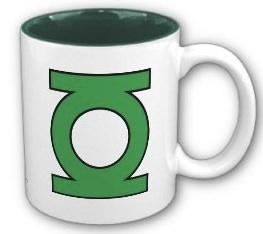 Green Lantern Logo Mug
