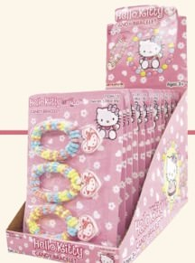 Hello Kitty Candy Bracelets: 12ct