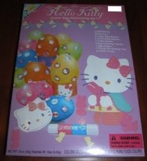 Decorate your easter Eggs with this Hello Kitty Egg Decorating kit