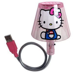 Laptops need light sometimes and Hello Kitty will help you with this LED USB Light.