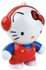 Hello kitty speaker made by Headphonies it's cute and give great sound.