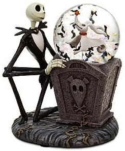 Then Nightmare before Christmas snow globe