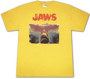 Jaws the shark picture T-Shirt